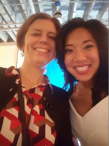 Data2insight founder, Veronica S. Smith, and Thriving Elements founder, Janet T. Phan celebrate the launch of Thriving Elements.